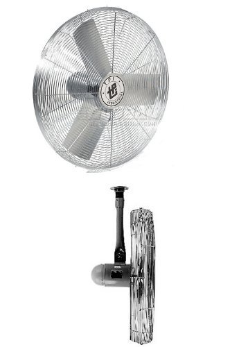 TPI 30 Inch Unassembled Stationery Air Circulator w/ Cealing Mount
