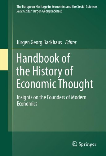 Download Handbook of the History of Economic Thought: 11 (The European Heritage in Economics and the Social Sciences) Pdf