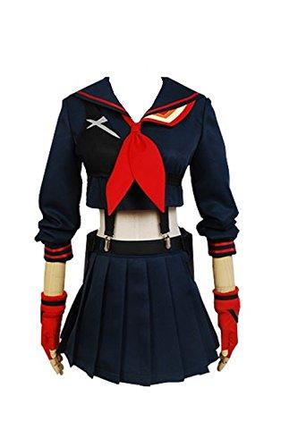 Ryuko Matoi Cosplay Costume (Cosplaybar KILL la KILL Ryuko Matoi Cosplay Costume Female L)
