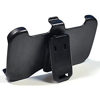 [180 Day Warranty] Zerolemon Replacement Belt Clip Holster & Kickstand for Galaxy Note 2 Zeroshock Case and Galaxy Note 3 Zeroshock Case for Samsung Galaxy Note 2 and Note 3 Dual Layer Rugged Case