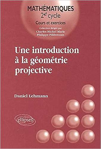 Livre numérique Une introduction à la géométrie projective