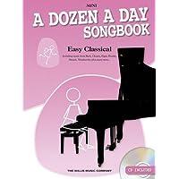 A Dozen a Day Songbook: Easy Classical Mini