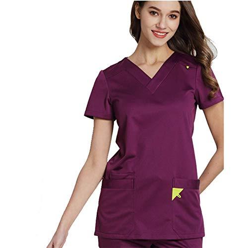 ZHUXIANSHENG Uniformi Mediche Infermiere Ospedaliere Tute da Lavoro
