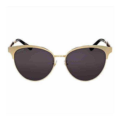 Eyeglasses Gucci GG 0130 O- 002 002 BROWN / - Mens Eyeglasses Gold Gucci