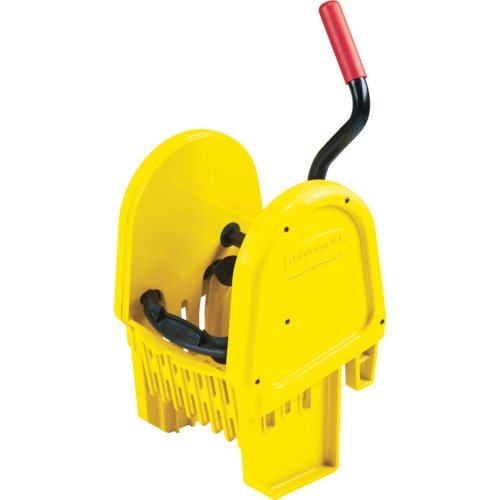 Rubbermaid Commercial Products FG757579YEL WaveBrake Mopping System Wringer, Down Press, Yellow by Rubbermaid Commercial Products