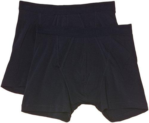 Navy Blue Boxer Shorts - 1
