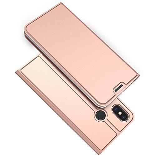 TOTOOSE Xiaomi Mi 8 Explorer Case Wallet Leather, Xiaomi Mi 8 Explorer Case with Card Holder and Kickstand, Xiaomi Mi 8 Explorer Wallet Case with Leather Case, Leather Case Case Cover for Xiaomi Mi ()