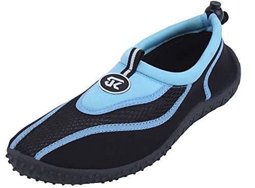 Starbay Women's Athletic Water Shoes Aqua Socks Blue 2907
