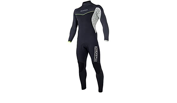 2018 Mystic Drip 5/4mm Back Zip Wetsuit BLACK / GREY 180013 ...