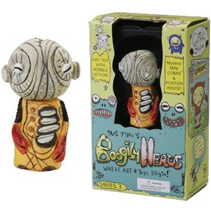 Gus Fink Boogily Heads serie 3, assortiment figurines 5 cm (Gus Fink Boogily Heads)