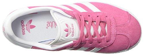 White Adidas Youth 1 Synthetic 39 Gazelle 3 Eu Pink Suede Entrenadores qRXxwnUfPR