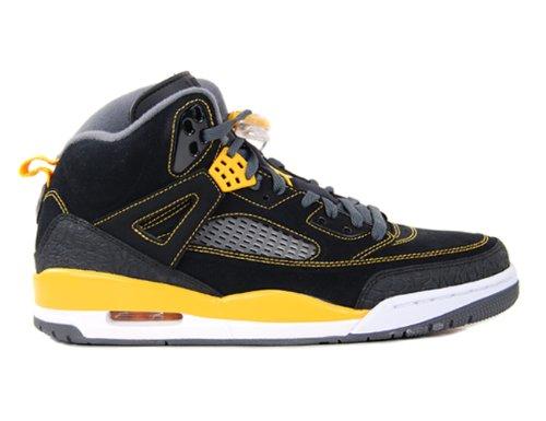 Nike Air Jordan Spizike Grade-School (GS) Blk/Unvrsty Gld-Drk Gry 317321-030 (Air Jordan Spizike Gs)
