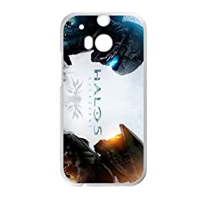 games Halo 5 Guardians Poster HTC One M8 Cell Phone Case White gift zhm004-9336929