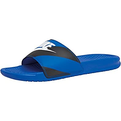 finest selection dba80 cda64 Pour homme Bleu noir blanc-Nike Benassi JDI Slide Sandales Bleu roi blanc  noir - multicouleur - Bleu noir blanc,  Amazon.fr  Chaussures et Sacs
