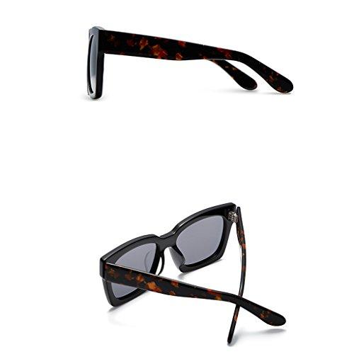 polarisées carrées Carrés pour de soleil soleil Lunettes soleil lunettes lunettes pour carrée de de vintage A des hommes conduire EwPEq7g0x
