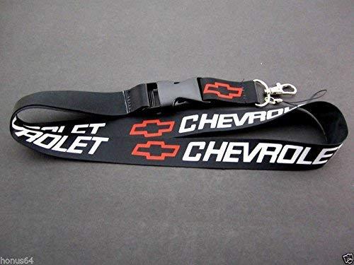 CHEVY CHEVROLET Lanyard Keychain Quick Release C3 C4 CAMARO CORVETTE - - Chevrolet Keychain