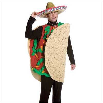 Taco Dress Womens Costumes (Taco Costume (Men's Adult Regular Size))