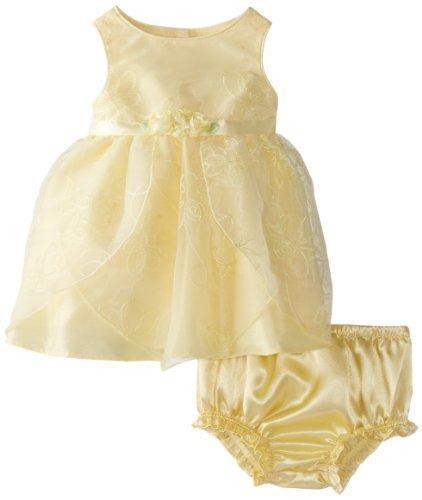 Youngland bebés recién nacidos Baby-diseño de chicas Disney vestidos bordado en vender, y