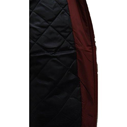 Larga Just hombre Manga Clásico para Básico chaquetas Hype Chaqueta 7xwqOpz6