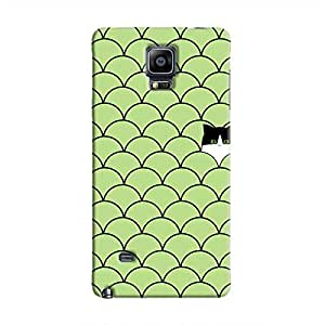 Cover It Up - Cat In Grass Galaxy Note 4Hard Case