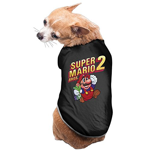 Charming Cozy Super Mario Bros-Mario Dog Shirt Pet