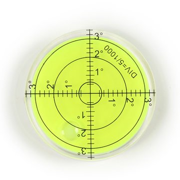 Buy 60mm Bubble Degree Marked Surface Spirit Level for