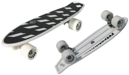 "Atom 21.5"" Mini Retroh Molded Skateboard - White"