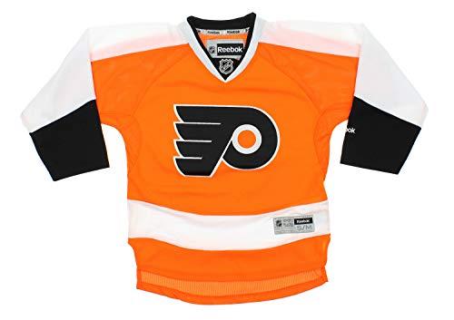 NHL RBK Philadelphia Flyers Premier Jersey - Youth BLACK L/XL