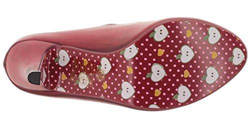Dancing Days - Zapatos de vestir de Material Sintético para mujer Rojo