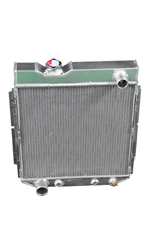 ZC251 3 Rows All Aluminum Radiator Fit 61-65 Ford Econoline/Mustang/Falcon V8