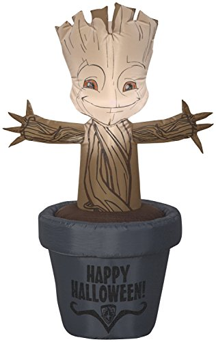 Gemmy 3.5' Marvel Airblown Baby Groot Halloween Inflatable