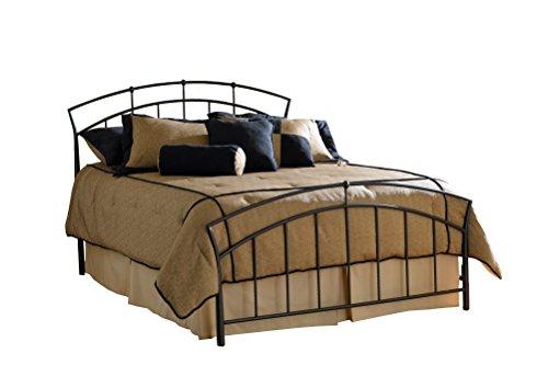 Hillsdale Furniture 1024BQR Vancouver Bed Set Queen Antique Brown ()