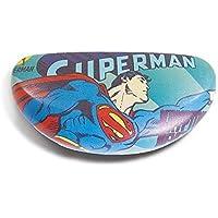 Caixa p oculos pu dco superman flying azul 16,5 x 6,9 x 8 c