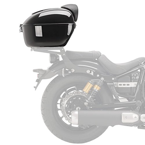 Top Case para Harley Davidson Sportster 883 Custom (XL 883 C) Customacces MT0008N 50 litros negro: Amazon.es: Coche y moto