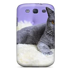 New Arrival Shorthair Kitten KEh7838MSUW Case Cover/ S3 Galaxy Case