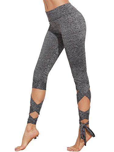 SweatyRocks-Womens-Slim-Fit-Cutout-Tie-Cuff-High-Waisted-Skinny-Workout-Leggings-Yoga-Tights