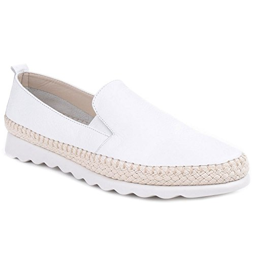 Espadrilles The Demin Leather Flexx Casual Womens Saratoga Chappie XgfwPxgqRO