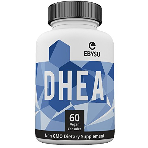 EBYSU DHEA 100mg Supplement – Extra Strength Hormonal Balance for Men & Woman – Metabolism Boost & Healthy Aging Support – 60 Non-GMO Vegan Capsules
