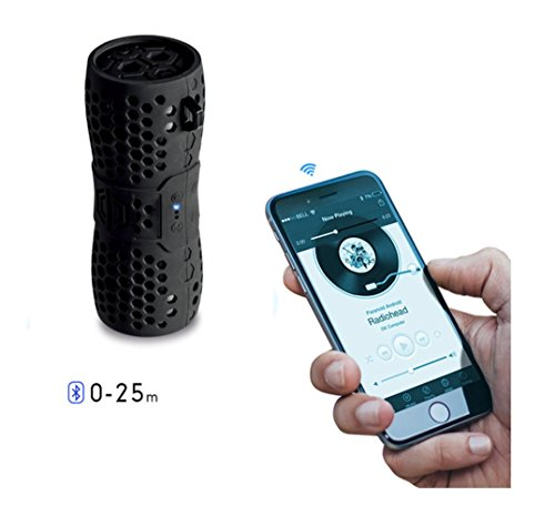 QAZWSX Portable Bluetooth Speaker,Wireless Waterproof Bass Sound,Speakers,Outdoor,Riding,On Foot Carabiner Speakers by QAZWSX (Image #2)