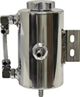 Universal Aluminum Power Steering Overflow Tank - Polished from CFR Performance