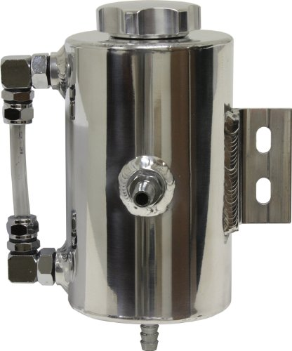 Power Steering Tank (Universal Aluminum Power Steering Overflow Tank - Polished)