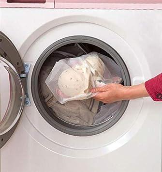 3x Wäschenetz 44 x 24 cm Wäschesack Wäsche Beutel Waschmaschinen Netz Waschsack