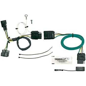 amazon com hoppy trailer wiring kit 2005 2006 jeep wrangler hopkins 42625 plug in simple vehicle wiring kit