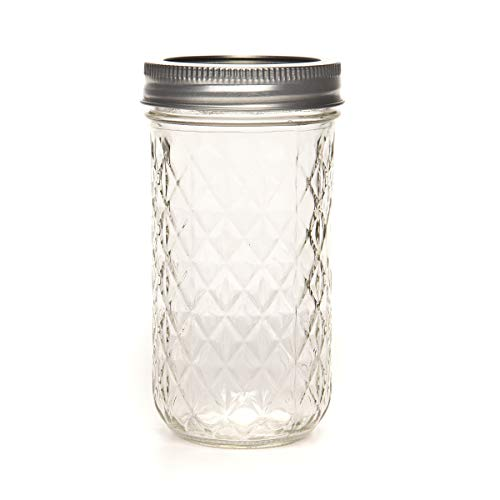 Ball Jelly Jars 12 Oz Regular Mouth Bands And Dome Lids 12 /