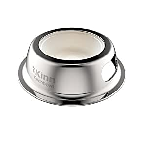 Kinn Kleanbowl - The Healthier Pet Food & Water Bowl for Dogs & Cats, 8 ounce (1 cup)