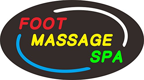 SPA TECH-LED Foot Massage & Spa SIGN by SPA TECH