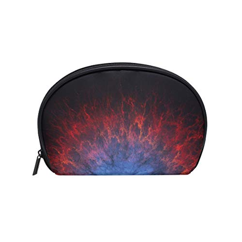 Makeup Bag Cosmetic Pouch Clutch Art Artistic Futuristic Science Space Fantasy Artw ()