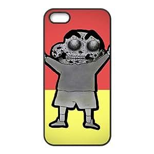 Crayon Shin Chan iPhone5s Cell Phone Case Black TPU Phone Case SV_228367