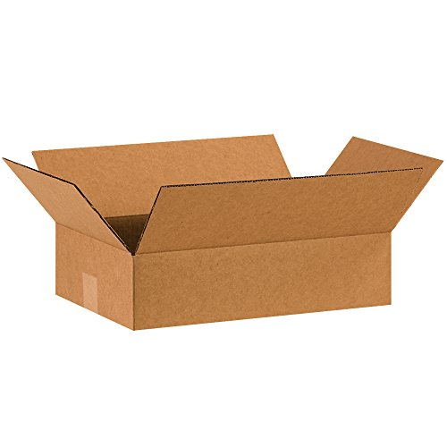 """Tape Logic TL16104 Corrugated Boxes, 16"""" x 10"""" x 4"""", Kraft (Pack of 25) from Tape Logic"""