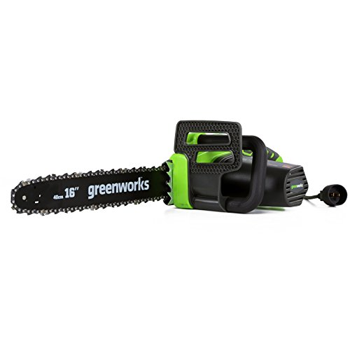 "GreenWorks 20232 12-Amp 16"" Corded Chainsaw"